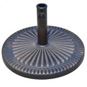 48cm Round Decorative Resin Sunburst Umbrella Base - Bronze Finish