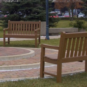 Rockford Plastic Garden Bench - Finish