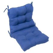 Outdoor Seat/Back Chair Cushion, Marine Blue