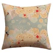 DENY Designs Iveta Abolina Creme De La Creme Outdoor Throw Pillow, 70cm by 70cm