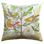 DENY Designs Cori Dantini Community Tree Outdoor Throw Pillow, 46cm by 46cm