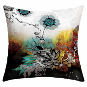 DENY Designs Iveta Abolina Frozen Dreams Outdoor Throw Pillow, 41cm by 41cm