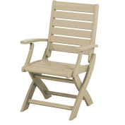 Signature Folding Dining Arm Chair - Finish