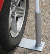 Wheel Stand Flagpole