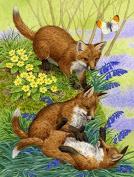 Fox Cubs Flag Garden Size ASA2131GF