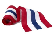 Independence Bunting & Flag 90cm 5-Stripe Nylon Bunting, Red/White/Blue/White/Red