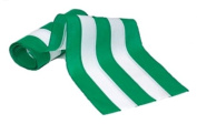 Independence Bunting & Flag 46cm 5-Stripe Cotton Bunting, Green/White/Green/White/Green