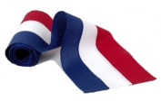 Independence Bunting & Flag 46cm 3-Stripe Cotton Bunting, Red/White/Blue