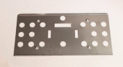 NEW Stainless Steel Heat Shield or Wind Deflector for T3