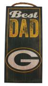 Fan Creations NFL Best Dad 15cm x 30cm Best Dad Wood Sign