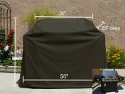 Heavy Gauge BBQ Grill Black Cover up to 140cm Long