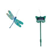 SMART SOLAR 4052RP19 Flutterby Dragonfly Outdoor Yard Art