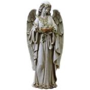 Angel Holding Nest Statue