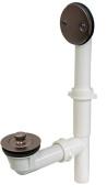 Plumbest P37-50RB Tubular Lift and Turn Full Kit, Oil Rubbed Bronze