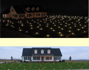 Lawn Lights Illuminated Outdoor Decoration, LED, Christmas, 36-08, Morphing Multicolor