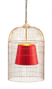Zuo Sprite Ceiling Lamp Large Gold & Red - 50173