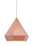 Zuo Forecast Ceiling Lamp Rose Gold - 50174