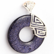 """Sweet & Happy Girl'S Store Ring Beads Tibetan Silver Base Pendant Necklace"""" Jewellery Making Pendant Necklaces"""