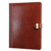 Dulwich Designs Heritage Brown Document Folder
