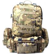 Outdoor Military Tactical Backpack Rucksacks Sports Camping Travel Hiking Bags