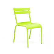 Chatou Lime Stackable Metal Side Chair