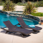 Christopher Knight Home Toscana Outdoor Wicker Lounge Chairs