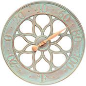 Whitehall Medallion Thermometer - Copper Verdi