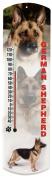 Heritage America by MORCO 375GSHEP German Shepherd Outdoor or Indoor Thermometer, 50cm