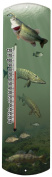 Heritage America by MORCO 375F-P Fish-Photo Outdoor or Indoor Thermometer, 50cm