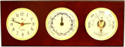 Time Tide Wall Clock with Barometer and Thermometer - Colour