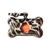 Petego United Pets Bon Tonne Dog Waste Bag Dispenser, Jungle, Leopard