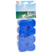 Wag Bags Refill BLUE UNSCENTED