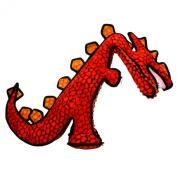Tuffy Destructosaurus Dog Toy