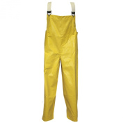 Tingley Rubber O12007 Magnaprene Plain Front Overalls, Large, Yellow