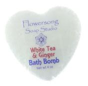 White Tea & Ginger Bath Bomb