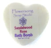 Sandalwood Rose Bath Bomb
