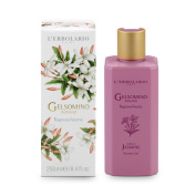 Gelsomino Indiano (Indian Jasmine) Bath and Shower Gel 250 Ml / 8.45 Fl. Oz. L'Erbolario Lodi