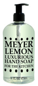 Greenwich Bay Meyer Lemon Hand Soap for the Kitchen With Shea Butter, Cocoa Butter and Lemon Extracts to Wash Odours and Germs 470ml