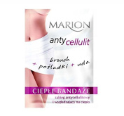 Marion Cellulite Serum Hot Bandage Wrap for Stomach Buttocks and Thighs with Warming Effect