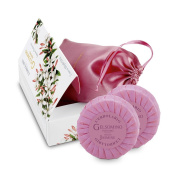 Gelsomino Indiano (Indian Jasmine) by L' Erbolario Lodi Beauty Travel Kit - 4 Travel Size Products