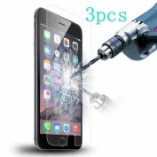 ABCsell 3PC For iPhone 6S Plus 9H Genuine Tempered Glass Film Screen Protector