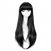 Andao Long Curly Hair Wig Cheap Long Wigs Hairpieces Costumes Be3027