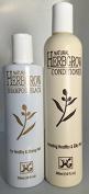 Natural Herbgrow Black Shampoo 300ml & Conditioner 300ml Set
