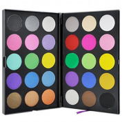 Healthcom Pro Cream 30 Colours EyeShadow Palette Makeup Contouring Kit