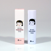 W.Lab 3D Face Highlighter Stick 11g for Contouring Makeup