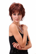 STfantasy Fashion Short Curly Brown Women Wigs Tangle Free