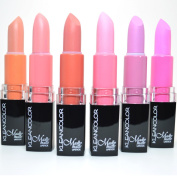 6 KLEANCOLOR MADLY MATTE LIPSTICK SET BOLD VIVID PINK APRICOT LIP STICK + FREE EARRING by Kleancolor