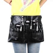 AOBILE(TM) High Quanlity Cosmetic Makeup Brush PVC Apron Bag Artist Belt Strap Professional Make up Bag Holder