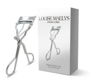 LOUISE MAELYS Silver Eyelash Curler Personal Beauty Tools with Replacement Refill Pads