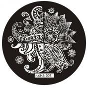 Susenstone® Cute Pattern Nail Art Image Stamp Plates Manicure Template 006